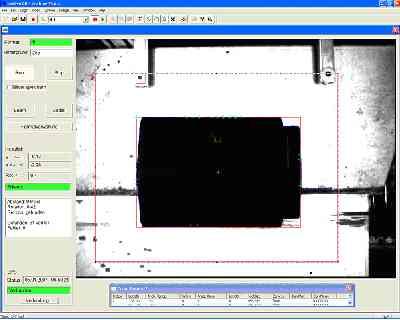 Positionsbestimmung von Dachziegeln und Robot Guidance