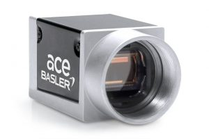Small cubic camera from the Basler ace series